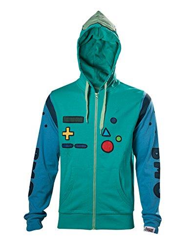 shirt Bleu Capuche Time À Homme Cosplay Bmo Officiel Costume Inspired Adventure Sweat AqBEwAU