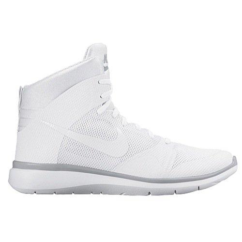 Nike Women's Dunk Ultra Modern Casual Shoe (7 B(M) US, White/Cool Grey/White/White)