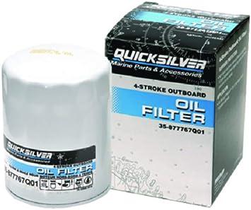 Quicksilver 877769Q01 Oil Filter Mercury Verado Six-Cylinder Outboards