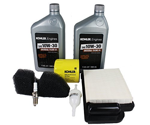 Oil Filter Kohler (Kohler 20 789 01-S Engine Maintenance Kit Courage Single SV470-610)