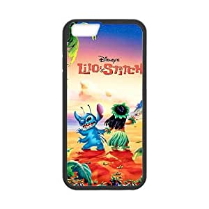 iphone6 plus 5.5 inch phone cases Black Lilo &amp Stitch cell phone cases Beautiful gifts TWQ06678545