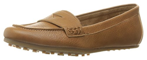 Aerosoles Women's Drive in Penny Loafer, Dark Tan, 9 M US