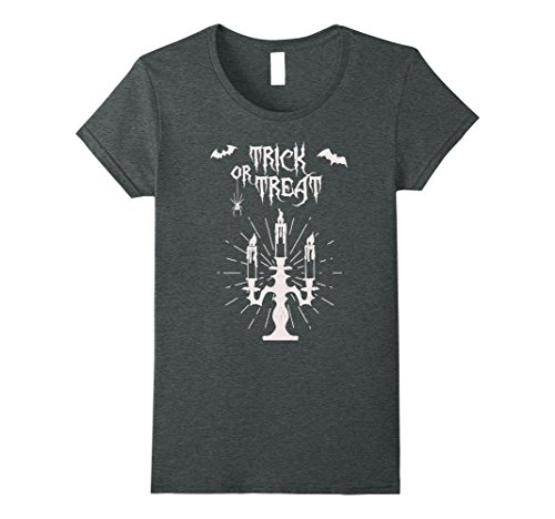 Womens Trick or Treat - Cool Halloween Costume 2017 T-Shirt XL Dark (Group Halloween Costume Ideas For Adults 2017)