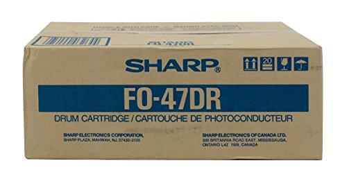 - Sharp FO-47DR Laser Toner Drum for Fo-47 Series (Black)