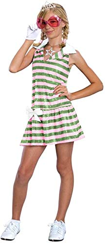 High School Musical Sharpay Golf Dress Child Costume Small