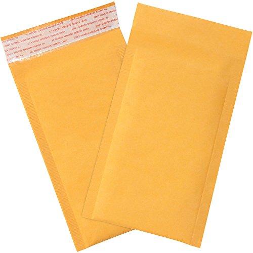 Aviditi B851SS25PK Paper #000 Heat-Seal Bubble Lining Mailer, 8