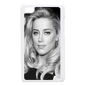 iPod Touch 4 Case White Amber Heard Black Dress SP4188016