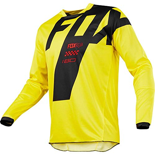 Fox Racing 2018 Youth 180 Mastar Jersey Yellow M