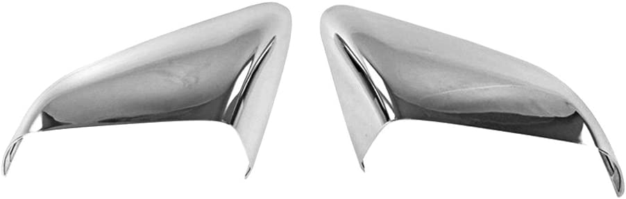 For FORD Mustang 2015 2016 2017 Chrome Top Half Mirror Covers WITH Signal Fit