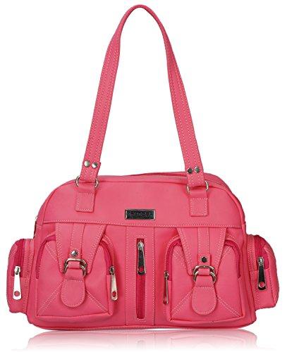 Fantosy Women's Handbag (Pink) (FNB-397)