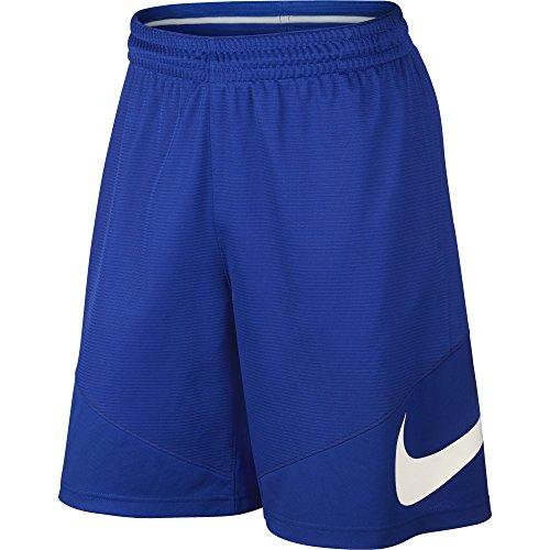 Basketball Swoosh Shorts - NIKE Men's Basketball Shorts, Game Royal/Game Royal/Game Royal/White, Medium