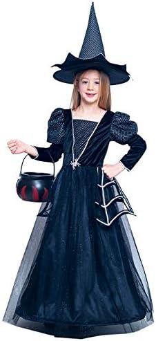 Disfraz Bruja Spiderweb Brillante para Niña Halloween (10-12 años) (+ Tallas): Amazon.es: Juguetes y juegos
