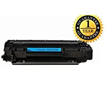SaveOnMany ® HP CE285A 85 285A 85A Black BK New Compatible Laser Toner Cartridge For HP LaserJet Pro M1210 MFP Series, M1212nf MFP, M1214nfh MFP, M1217nfw MFP, P1100 Series, P1102, P1109w / LaserJet M1132, P1100 Series, P1102W ~ 1,600 Pages Yield, 1 Year Warranty