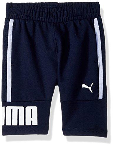 PUMA Little Boys' Tayio Shorts, Peacoat ()