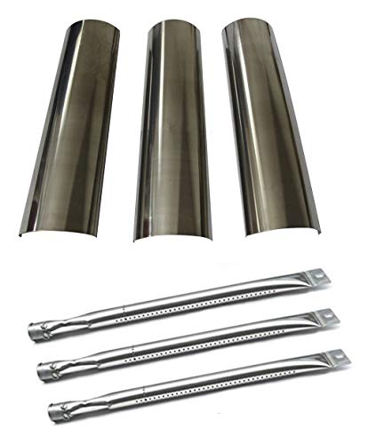 Hongso Master Forge SH3118B Gas Grill Repair Kit Replacement KIT Burners & Heat Plates (SBE601, SPE601) ()