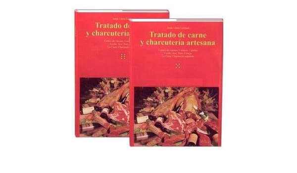 Tratado De Carne Y Charcutería Artesana, 2 Tomos. Precio En Dolares: VV.AA., 2 TOMOS TAPA DURA: Amazon.com: Books