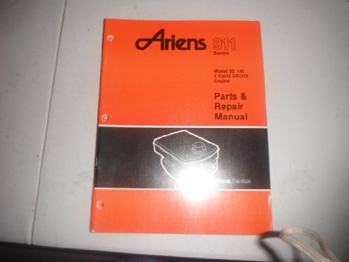 Used, Ariens 911 SB140 2cyl SACHS Engine OEM Parts Manual for sale  Delivered anywhere in USA