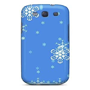 High-quality Durability Case For Galaxy S3(snowflakes)