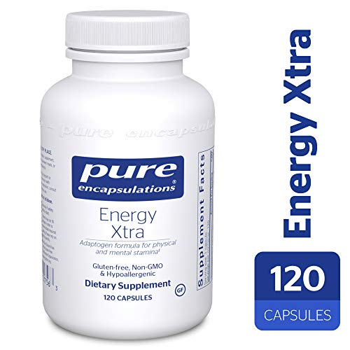 Pure Encapsulations - Energy Xtra - Energy-Promoting Adaptogen Formula* - 120 Capsules