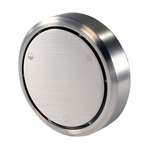 (Westbrass D493CH-07 Overflow Cover, Satin Nickel)