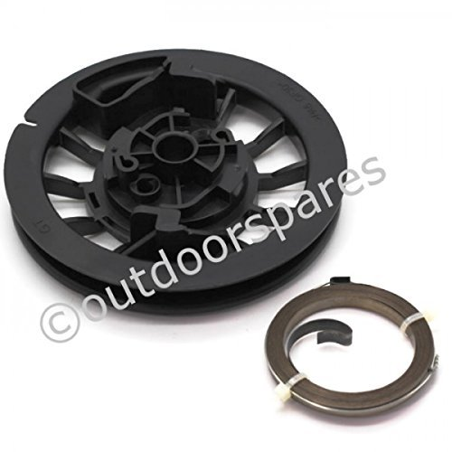 Mountfield RM45 & RM55 Recoil Pulley & Spring Set To Fit SP536 SP536es & Others