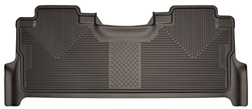 2019 Ford F-350 Ranch - Husky Liners 53380 Floor Liners - Second Seat Cocoa Fits 17-19 Ford F-250/350/F450 Crew Cab with Factory Box