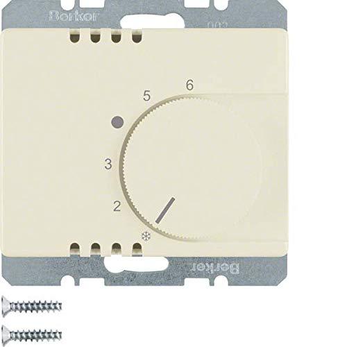 Hager arsys - Placa termostato con conmutador blanco: Amazon ...