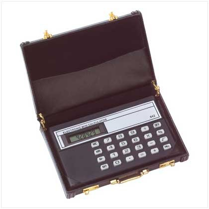 Mini briefcase calculator vinyl business card holder amazon mini briefcase calculator vinyl business card holder colourmoves