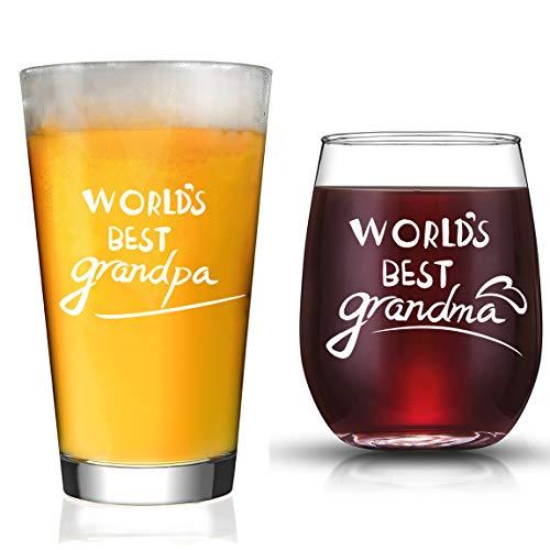 JERIO Grandparents Gifts New Grandparents Pregnancy Announcement World