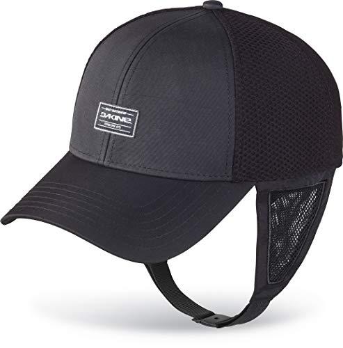 Dakine Surf Trucker Cap Hat Black 10002460 - Unisex - Nylon Taslan Fabric is Rated UPF 50+ - Adjustable Chin Strap