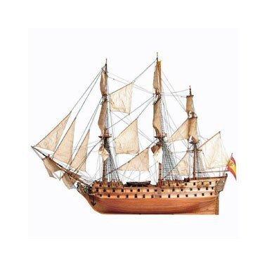 [Artesania Latina Jean Nepomuceno Navio Espanol 1765 1:90 Wooden Model Boat Kit by Artesania Latina] (Artesania Latina Model Boats)
