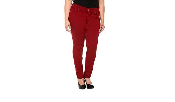 33e4b800ab2 Amazon.com  Torrid Denim - Red Sophia Skinny Jeans  Clothing