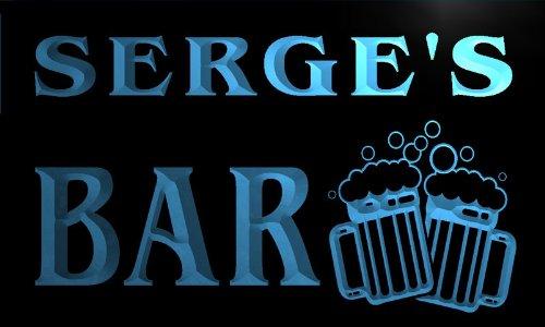 w043693-b-serge-name-home-bar-pub-beer-mugs-cheers-neon-light-sign