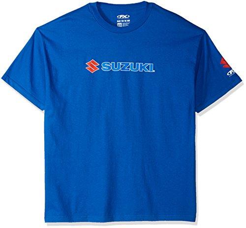 Suzuki Shirt Team - Factory Effex 15-88466 'Suzuki' Team T-Shirt (Blue, XX-Large)
