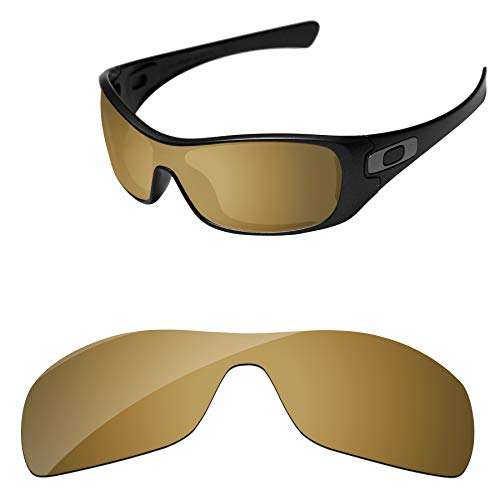 c1e520f4c7 PapaViva Replacement Lenses for Oakley Antix Bronze Golden - Polarized