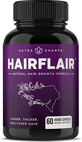HairFlair Vitamins Stronger Healthier Supplement product image