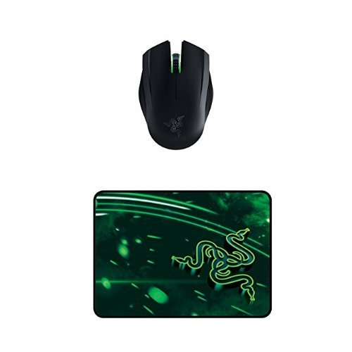 (Razer Orochi Wired or Wireless Bluetooth Travel Gaming Mouse - 8200 DPI with Chroma Lighting - 7 Months of Battery Life + Gaming Mouse Mat)