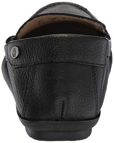 Women's Black Slip Puppies Leather Hush Mocc Moccasins on AIDI vTqHwXnwR