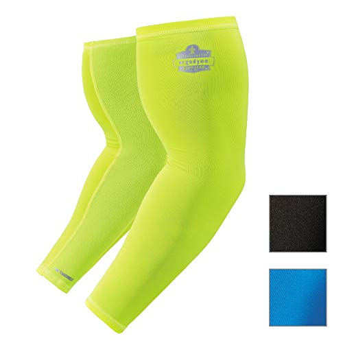 (Cooling Arm Sleeves, Sized for Men &Women, UPF 50+ Sun Protection, Ergodyne Chill Its 6690 )