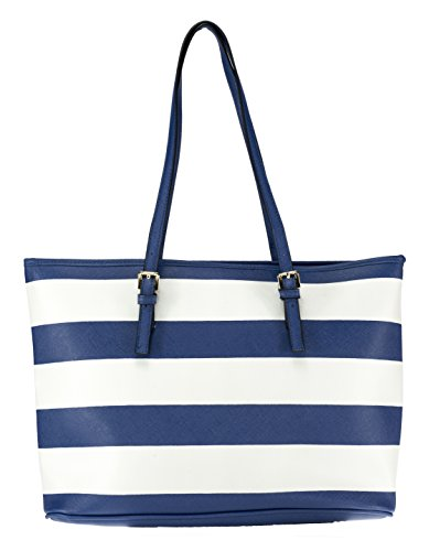 Women's Shoulder Xxl Blue Bag Mik white Mb6004 1dRw8qPqF