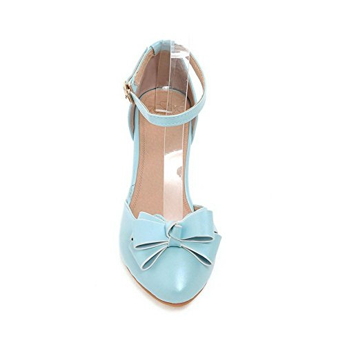 Unknown - Sandalias de vestir para mujer azul claro