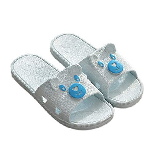 Bleu AMINSHAP Taille 37 Plastique Pantoufles Couleur en antidérapantes Chaussons Femmes 38EU Purple pour zd7xvqxSnw