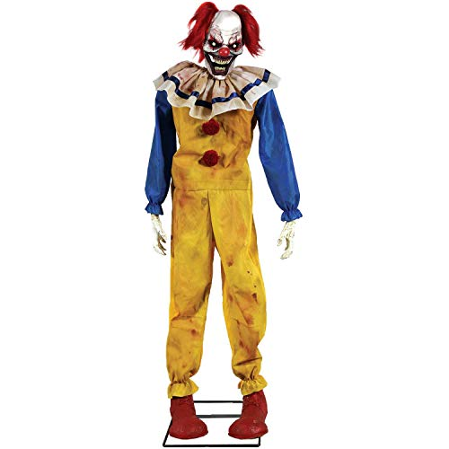Walmart Twitching Clown Animated Prop Halloween -