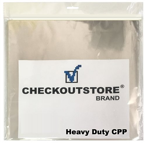 CheckOutStore (100) Clear Plastic CPP Sleeves for 12