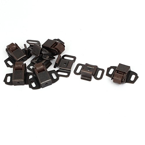 Wardrobe Single (uxcell Cabinet Wardrobe Door Single Ball Roller Latch Catches Copper Tone 5pcs)
