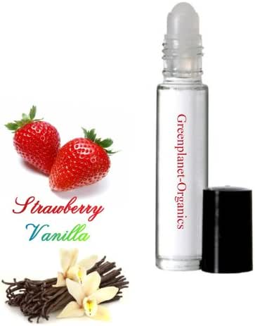 Set of 2: Strawberry Vanilla Scented Oil (Made in USA)