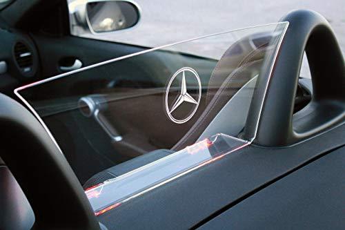 (Mercedes-Benz SLK Class R171 2005-2011 Wind Deflector, Windscreen, Illumination Kit )