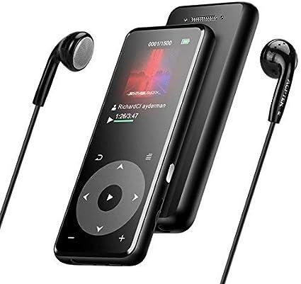 Amazon | MP3プレーヤー AGPTEK Bluetooth4.0 mp3プレイヤー 超軽量 ...