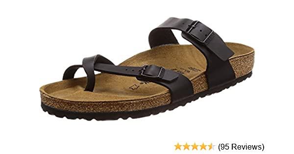 Birkenstock Women s Mayari Birko-Flor Vegan Slide On Sandals 1009-990 780640027d4
