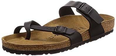 Birkenstock Mayari Birko-Flor Black - Thong Sandals - 071791 - Regular fit EU(35)